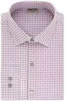 Kenneth Cole Reaction Technicole Men's Slim-Fit Stretch Flex Collar Check Dress Shirt