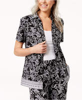 Karen Scott Printed Shirt, Created for Macy's