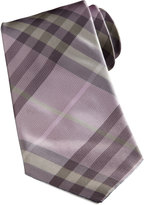Burberry Basic Check Tie, Pink