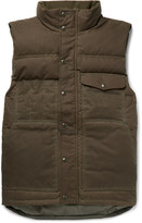 Filson - Water-resistant Cotton-canvas Down Gilet