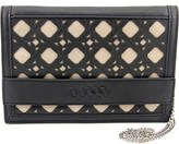 Danielle Nicole Nalani Clutch Women Synthetic Black Clutch.