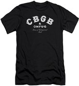 CBGB Mens Classic Logo Slim Fit T-Shirt