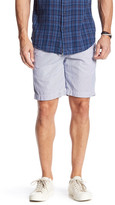 Save Khaki Grid Check Print Bermuda Short