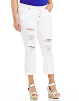 Silver Jeans Co. Plus Sam Boyfriend Jeans