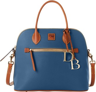 Dooney & Bourke Pebble Grain Large Domed Satchel