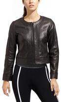 Athleta Sleek Leather Jacket
