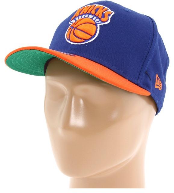 New Era New York Knicks NBA Hardwood Classics 2 Tone Snap 9FIFTY (New York Knicks) - Hats