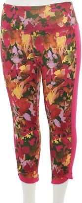 Tek Gear Plus Size High-Waisted Capri Leggings