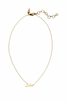 Rebecca Minkoff Libra Zodiac Necklace in Gold