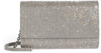 Judith Leiber Crystal Embellished Fizzoni Clutch Bag