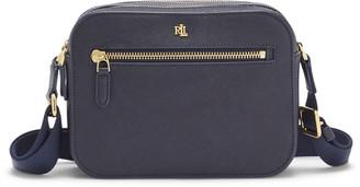 Ralph Lauren Saffiano Leather Crossbody Bag