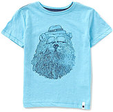 Lucky Brand Little Boys 4-7 Gentleman Bear Graphic Short-Sleeve Tee