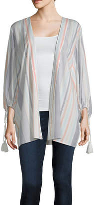 A.N.A Womens Long Sleeve Kimono