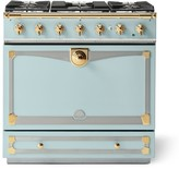 Williams-Sonoma Williams Sonoma Cornue Fe Albertine Dual-Fuel Range Stove, Roquefort