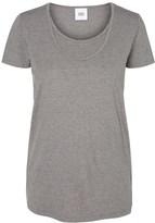 Mama Licious Mamalicious Maternity Basic Nursing T Shirts
