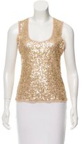Magaschoni Embellished Sleeveless Top