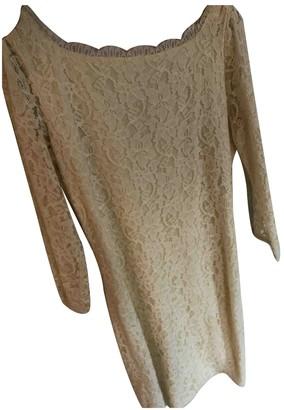 Diane von Furstenberg Ecru Lace Dresses