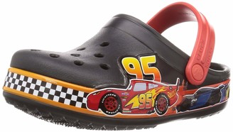 Crocs unisex baby Fun Lab Disney and Pixar Cars Band | Slip on Water Shoes for Boys Girls Toddlers Clog