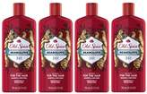 Old Spice 2 in 1 Shampoo and Conditioner, Bearglove, 25.3 Ounce (Pack of 4)