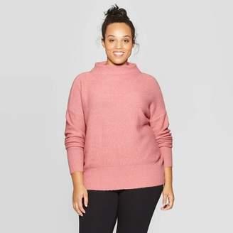 Ava & Viv Women's Plus Size Turtleneck Sweater