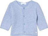 Mayoral Pale Blue Knit Cardigan