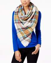 Steve Madden Classic Plaid Blanket Square Scarf