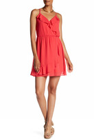 Amy Byer A. Byer Sleeveless Ruffle Surplice Dress (Junior)