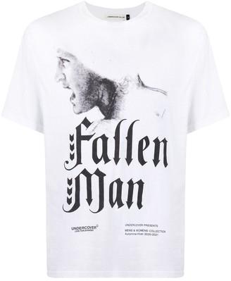 Undercover Fallen Man print T-shirt
