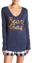 Junk Food Clothing Chicago Bears Long Sleeve Tee