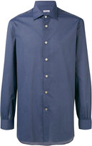 Kiton button-up shirt - men - Cotton - 43