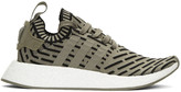adidas Taupe NMD R2 PK Sneakers