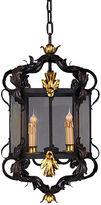 Bradburn Gallery Home Golden Feather Lamp Shade, Shantung Silk