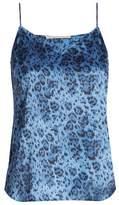 Stella McCartney Ellie Leaping leopard-print stretch-silk cami top