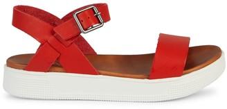 Mia Melvina Vegan Leather Flatform Sandals