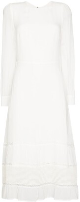 Reformation Valerie tiered midi dress