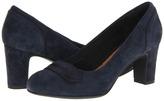 Clarks Tamryn Cider (Navy Suede) - Footwear