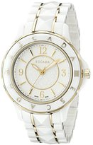 Escada Women's IWW-E4165012 Adriana Analog Display Swiss Quartz White Watch
