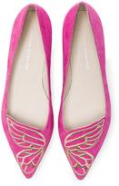 Sophia Webster Suede Bibi Butterfly Flats