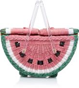Charlotte Olympia Watermelon Wicker Basket