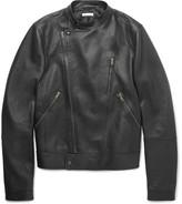 Tomas Maier Slim-Fit Leather Biker Jacket