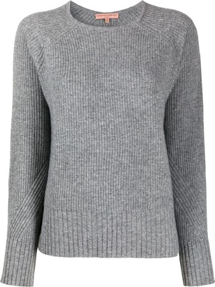 Ermanno Scervino Ribbed Round-Neck Jumper