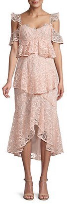 AMUR Tiered Lace Dress