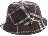 Burberry Nova Check Wool Hat