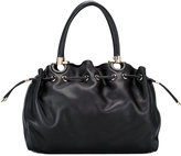 Salvatore Ferragamo drawstring Gancio tote - women - Calf Leather - One Size