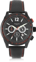 Forzieri Assen Black and Red Chronograph Men's Watch