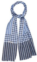 Givenchy Houndstooth Silk Scarf
