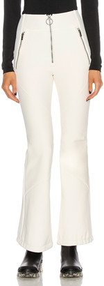 Holden High Waisted Softshell Pant in Chalk | FWRD