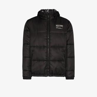 Moschino Padded Hooded Jacket