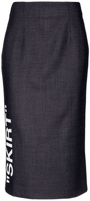 Off-White OFF-WHITETM 3/4 length skirts