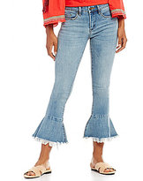 Chelsea & Violet Cropped Flare Jeans